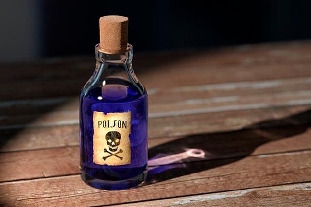 Отравление химическим реактивом