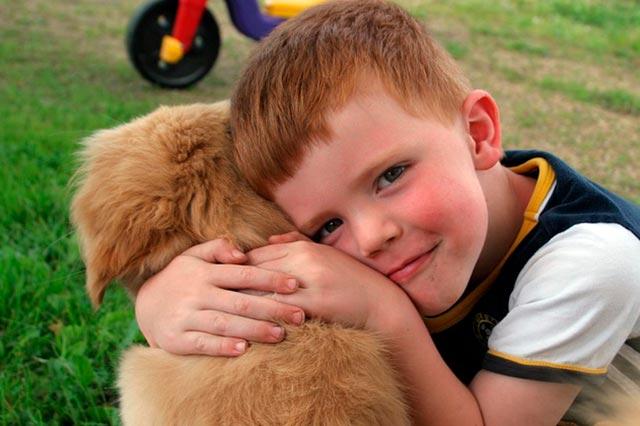 Лечение собаками - канистерапия